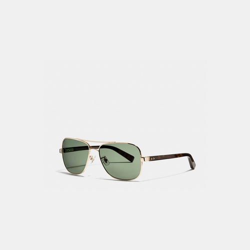 Coach Outlet Store & COACH BLEECKER sunglasses GOLD