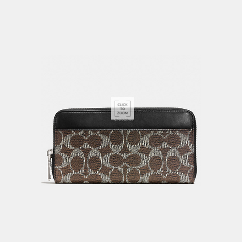 Coach Outlet Store & COACH ACCORDION wallet SADDLE