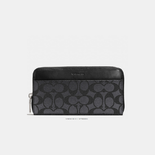 Coach Outlet Store & COACH ACCORDION wallet CHARCOAL