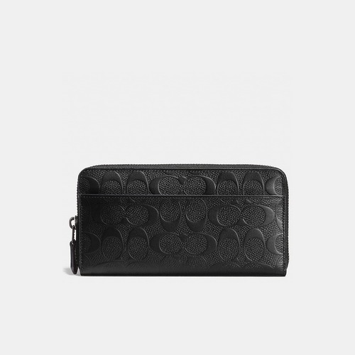 Coach Outlet Store & COACH ACCORDION wallet BLACK