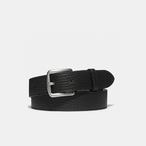 Coach USA Store & COACH BLEECKER leather reversible belt FAWN/BLACK