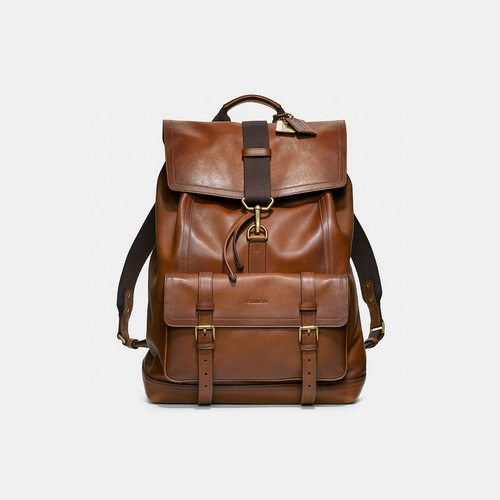 Coach USA Store & COACH BLEECKER backpack FAWN