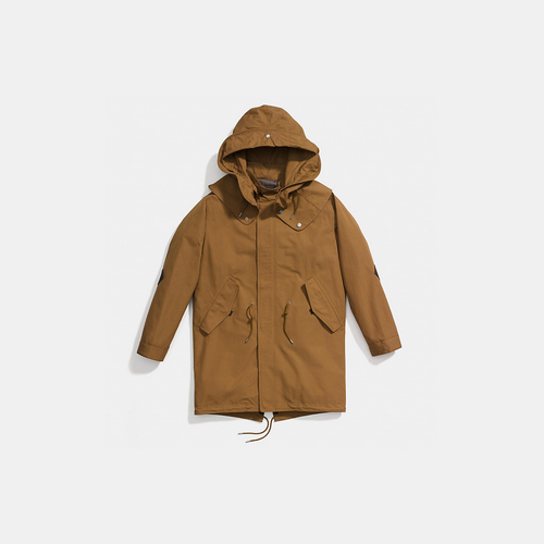 Coach USA Store & COACH COLLECTION parka TAN