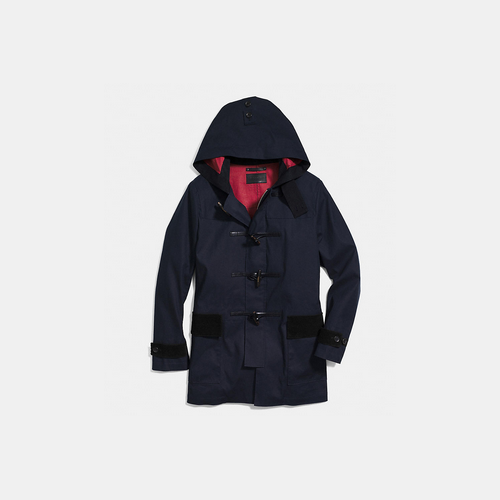 Coach USA Store & COACH MAC duffle coat NAVY