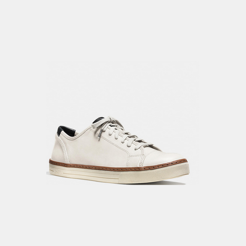 Coach USA Store & COACH YORK lace sneaker WHITE