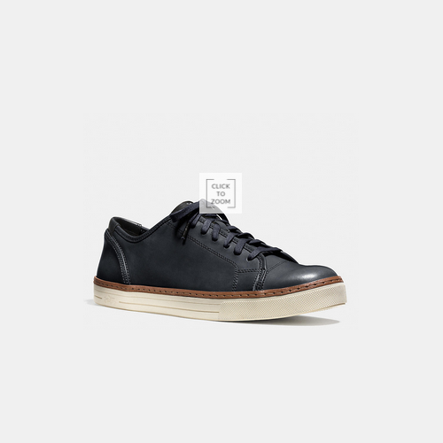 Coach USA Store & COACH YORK lace sneaker MIDNIGHT NAVY