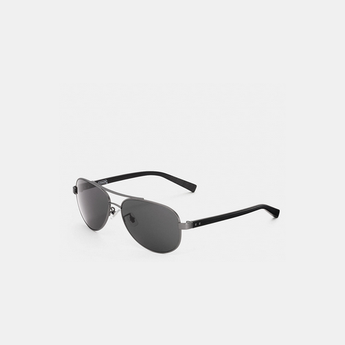 Coach USA Store & COACH THOMPSON sunglasses GUNMETAL/BLACK