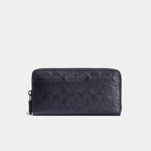 Coach USA Store & COACH ACCORDION wallet MIDNIGHT