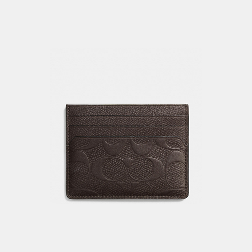 Coach USA Store & COACH CARD case MAHOGANY