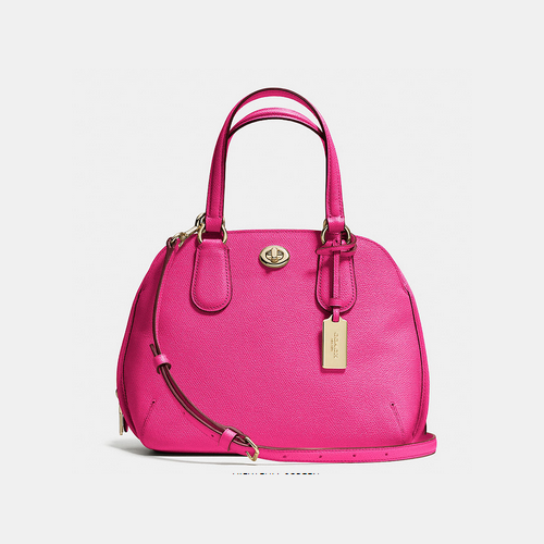 Coach USA Store & COACH PRINCE street mini satchel LIGHT GOLD/PINK RUBY