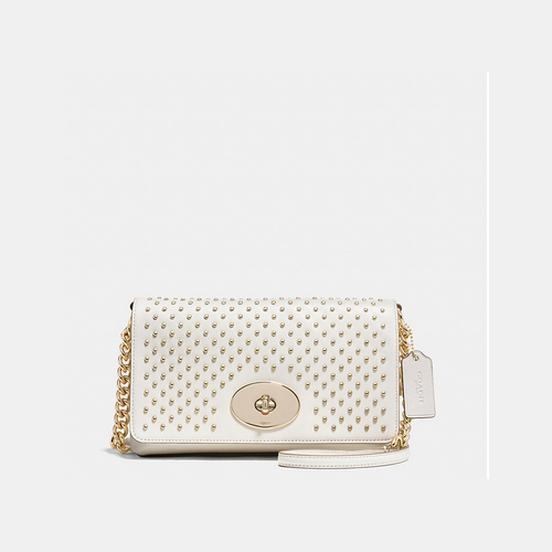 Coach USA Store & COACH CROSSTOWN crossbody LIGHT GOLD/CHALK