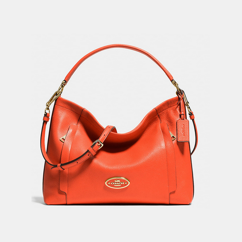 Coach USA Store & COACH SCOUT hobo LIGHT GOLD/CORAL