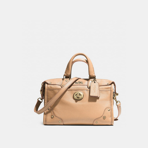 Coach USA Store & COACH RHYDER 24 satchel LIGHT GOLD/APRICOT