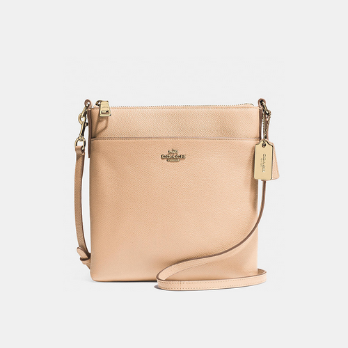 Coach USA Store & COACH NORTH/SOUTH swingpack LIGHT GOLD/APRICOT