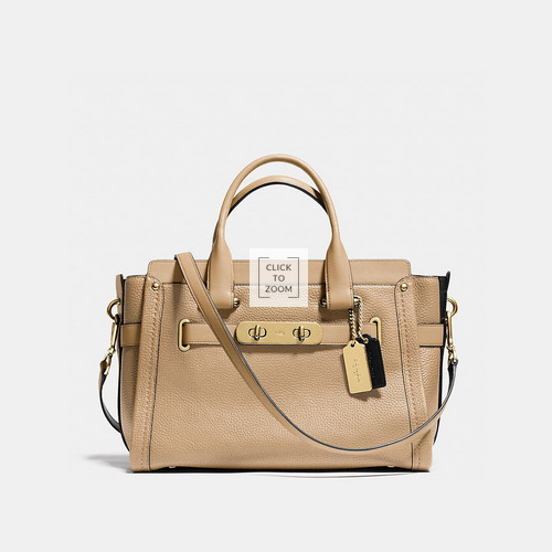 Coach USA Store & COACH swagger LIGHT GOLD/NUDE MULTI