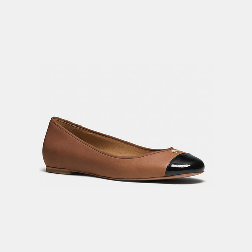 Coach USA Store & COACH SAMANTHA flat SADDLE/BLACK