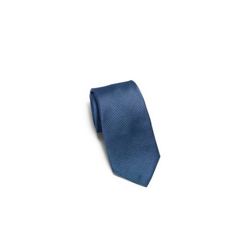 MICHAEL KORS MEN Polka-Dot Woven-Silk Tie NAVY