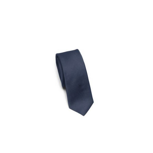 MICHAEL KORS MEN Solid Silk Tie AZURE