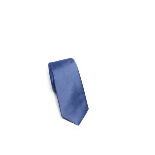MICHAEL KORS MEN Solid Silk Tie BLUE