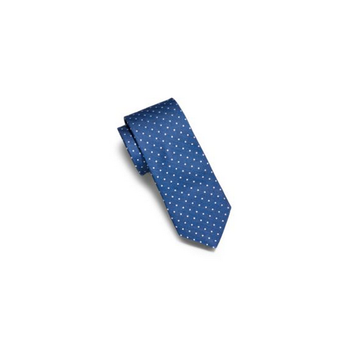 MICHAEL KORS MEN Pindot Silk Tie NAVY