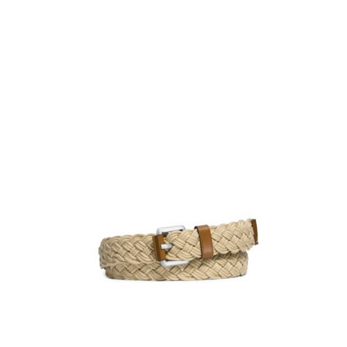 MICHAEL KORS MEN Woven Cotton Belt LUGGAGE