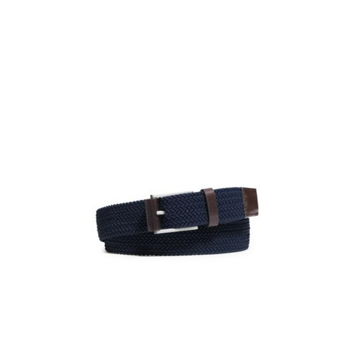 MICHAEL KORS MEN Woven Belt INDIGO