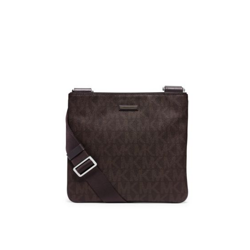 MICHAEL KORS MEN Jet Set Logo Crossbody BROWN