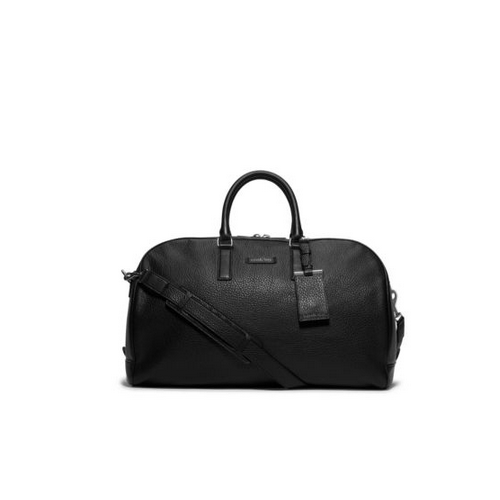 MICHAEL KORS MEN Bryant Pebbled-Leather Duffel