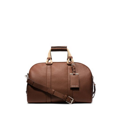 MICHAEL KORS MEN Bennett Pebbled-Leather Duffel LUGGAGE