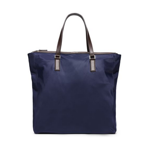 MICHAEL KORS MEN Kent Large Nylon Tote INDIGO
