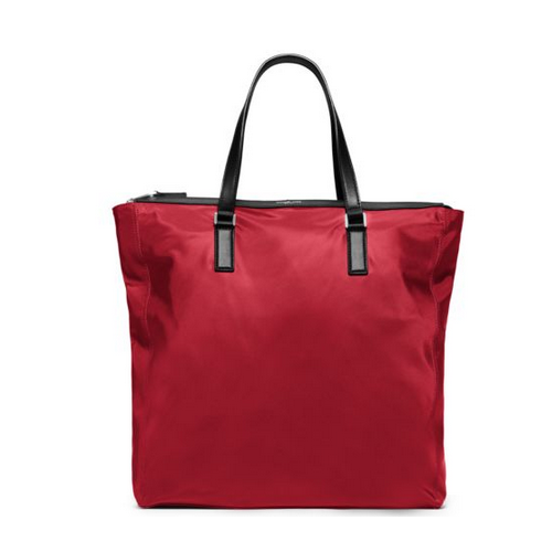 MICHAEL KORS MEN Kent Large Nylon Tote WINE