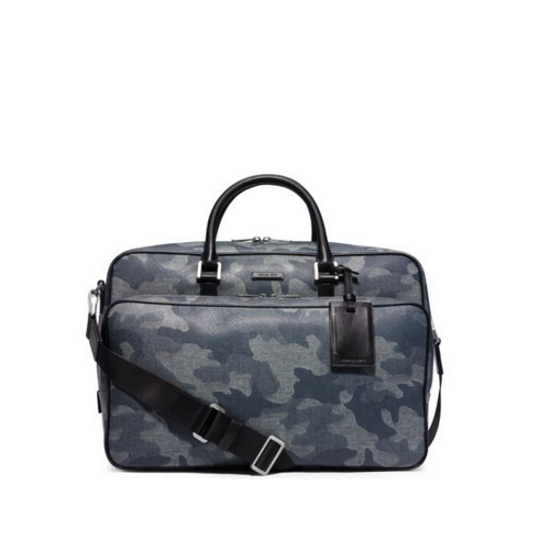 MICHAEL KORS MEN Jet Set Travel Denim Camouflage Carry-On