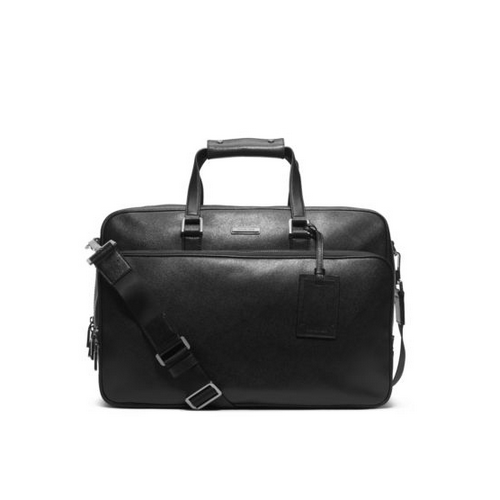 MICHAEL KORS MEN Jet Set Travel Leather Carry-On