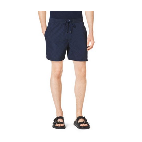 MICHAEL KORS MEN Pindot Surf Shorts INDIGO