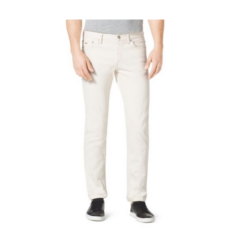 MICHAEL KORS MEN Slim-Fit Jeans ECRU
