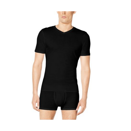 MICHAEL KORS MEN Three-Pack V-Neck Cotton-Modal T-Shirt BLACK