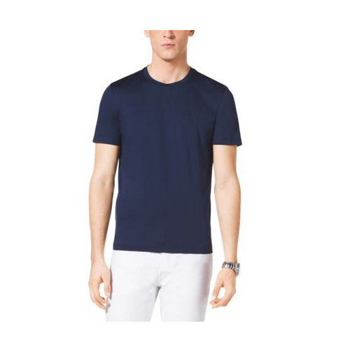 MICHAEL KORS MEN Cotton-Jersey Crewneck T-Shirt MIDNIGHT