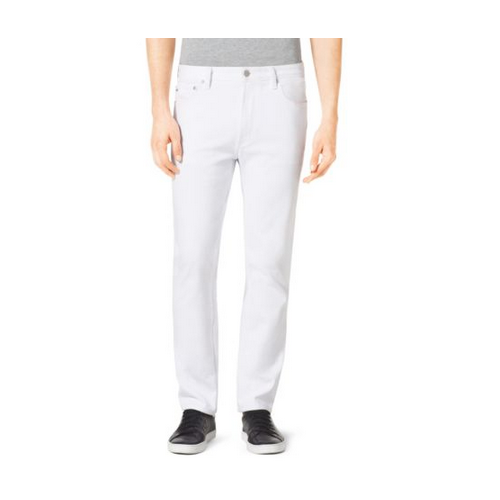 MICHAEL KORS MEN Tailored-Fit Jeans WHITE