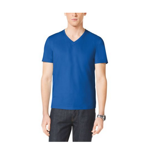 MICHAEL KORS MEN Cotton-Jersey V-Neck T-Shirt TIDAL