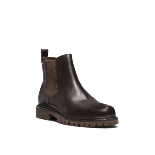 MICHAEL KORS MEN Hudson Leather Boot CHOCOLATE