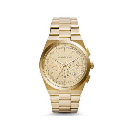 MICHAEL KORS Channing Gold-Tone Watch