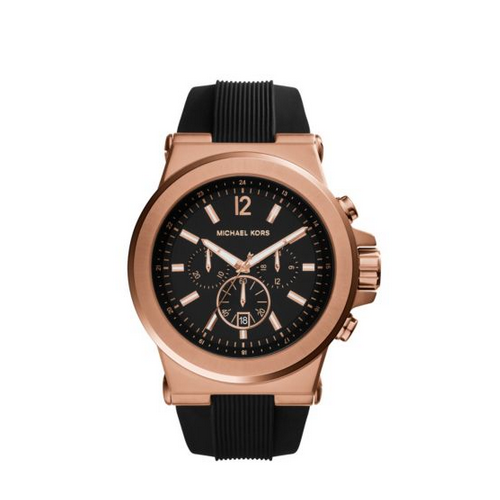 MICHAEL KORS Dylan Rose Gold-Tone Watch