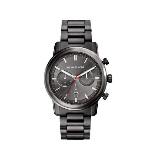MICHAEL KORS Pennant Gunmetal Watch
