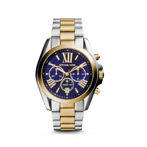 MICHAEL KORS Bradshaw Two-Tone Watch