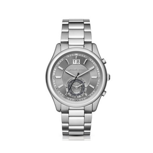 MICHAEL KORS Aiden Silver-Tone Watch