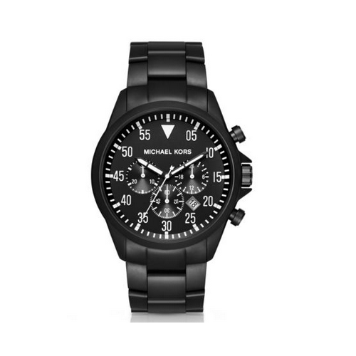 MICHAEL KORS Gage Black-Tone Watch