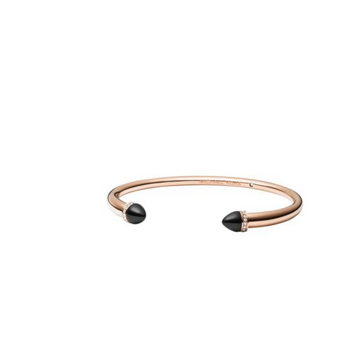 MICHAEL KORS Embellished Rose Gold-Tone Arrow Cuff