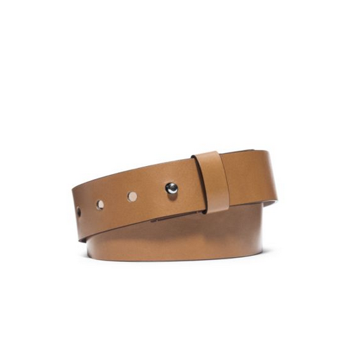 MICHAEL KORS Leather Belt PEANUT