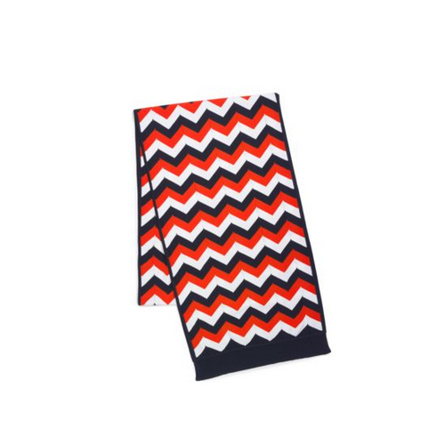 MICHAEL KORS Chevron Striped Scarf