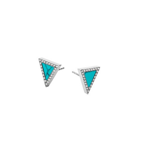 MICHAEL KORS Triangle Stud Earrings
